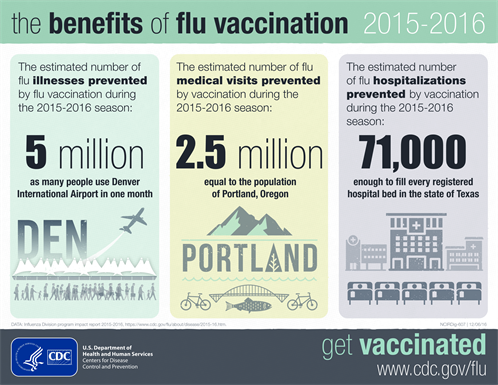 Flu Benefit Burden Infographic 2015 2016 1