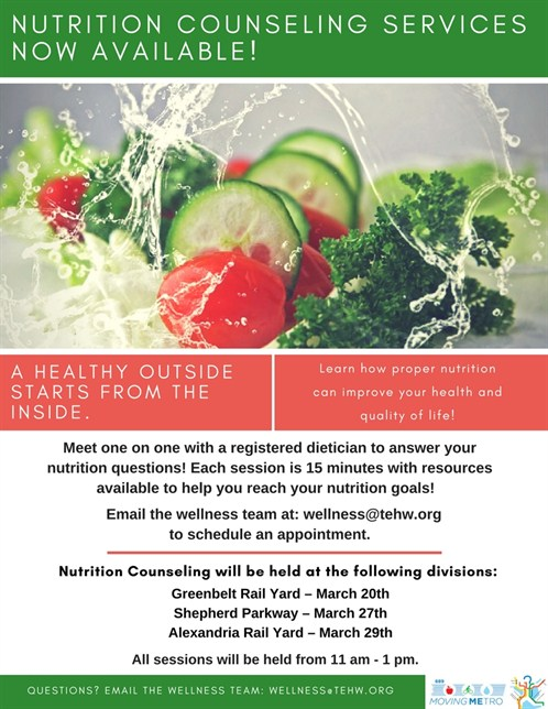 Nutrition Counseling Flyer Revised