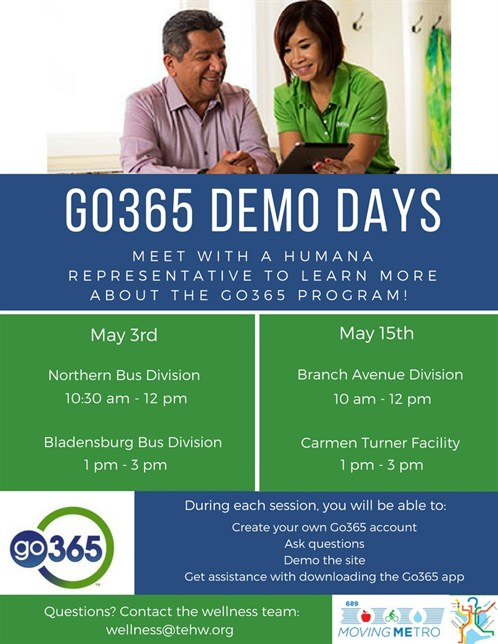 Go365 Demo Days New Dates