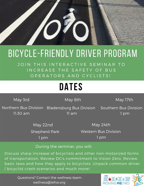 Bicycle Friendly Driver Program