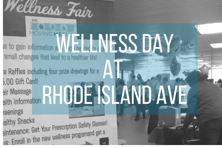 Wellness Day At Rhode Island Avenue 1