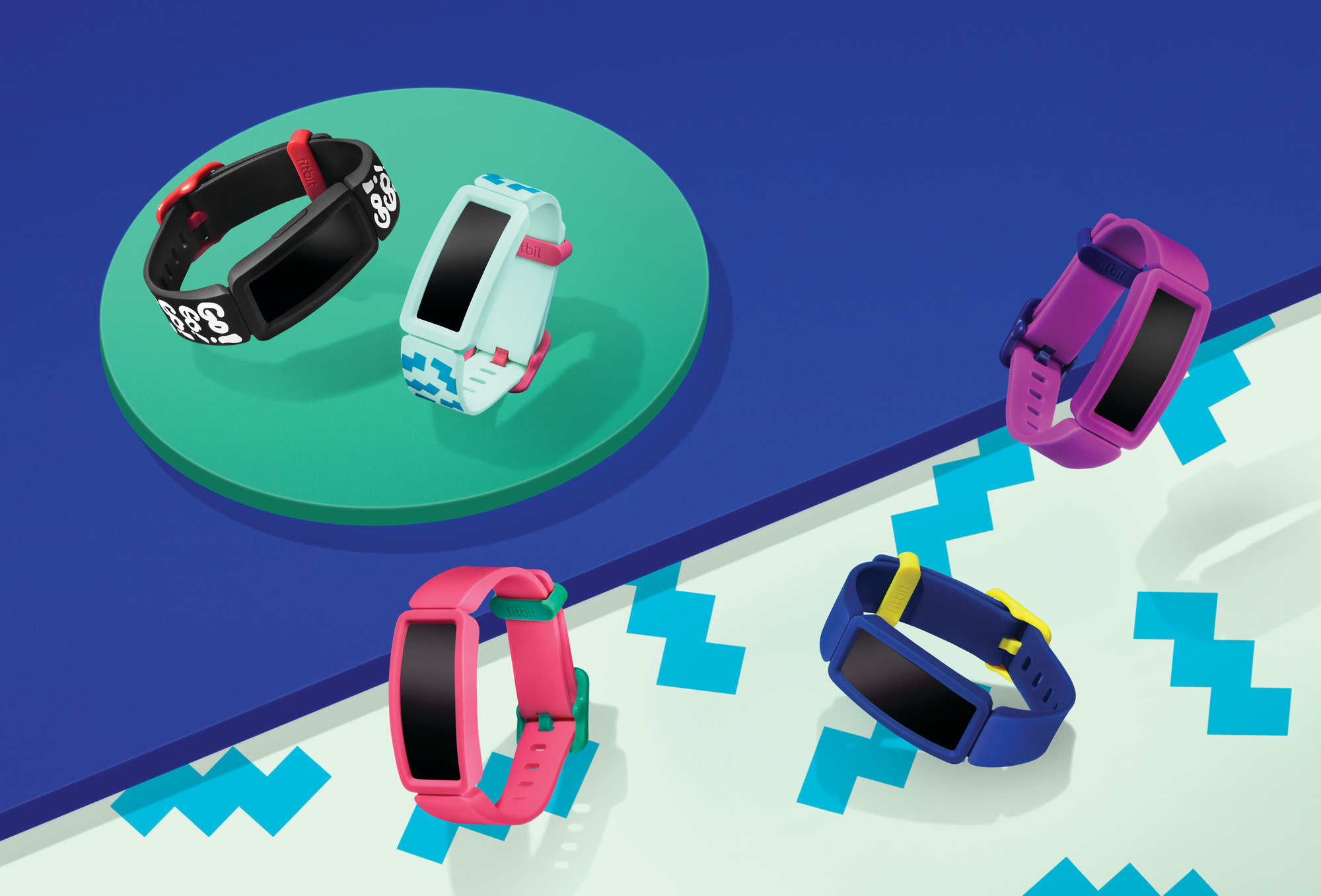 Fitbit Ace 2 Full Assortment Cropped