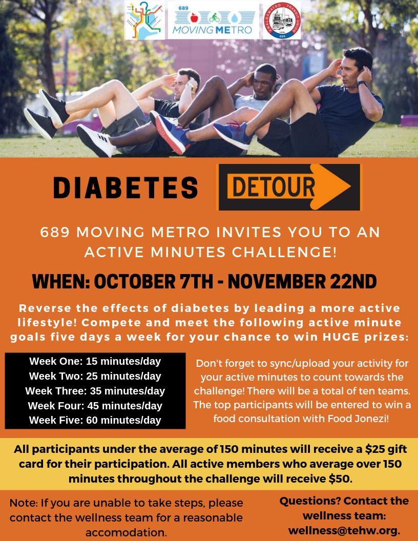 Diabetes Detour Flyer Revised